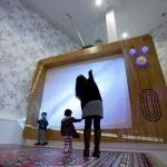 Децата и големите телевизори